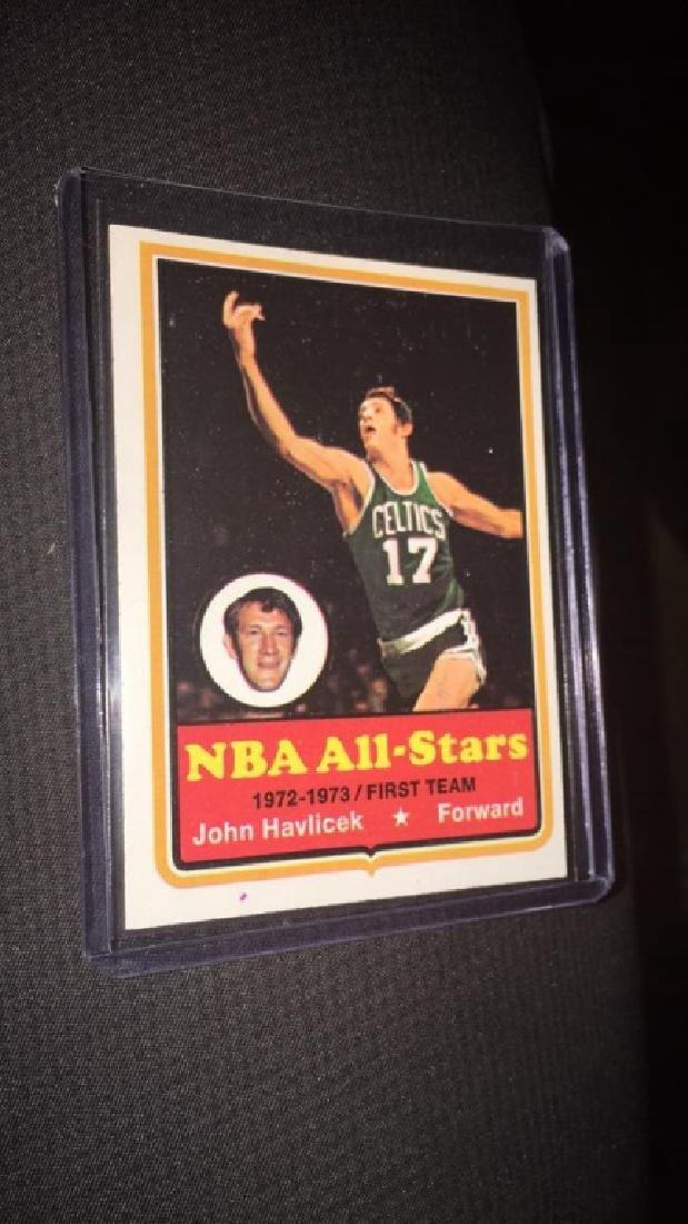 John Havlicek  1973-74 Topps vintage basketball