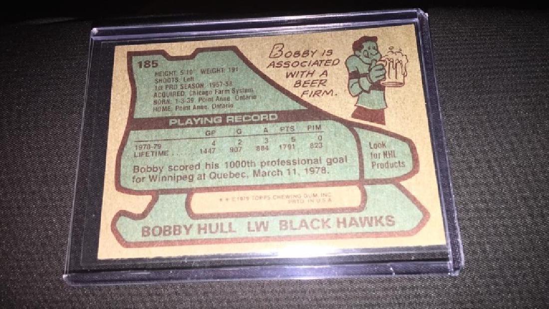 Bobby Hull 197- 80 topps - 2