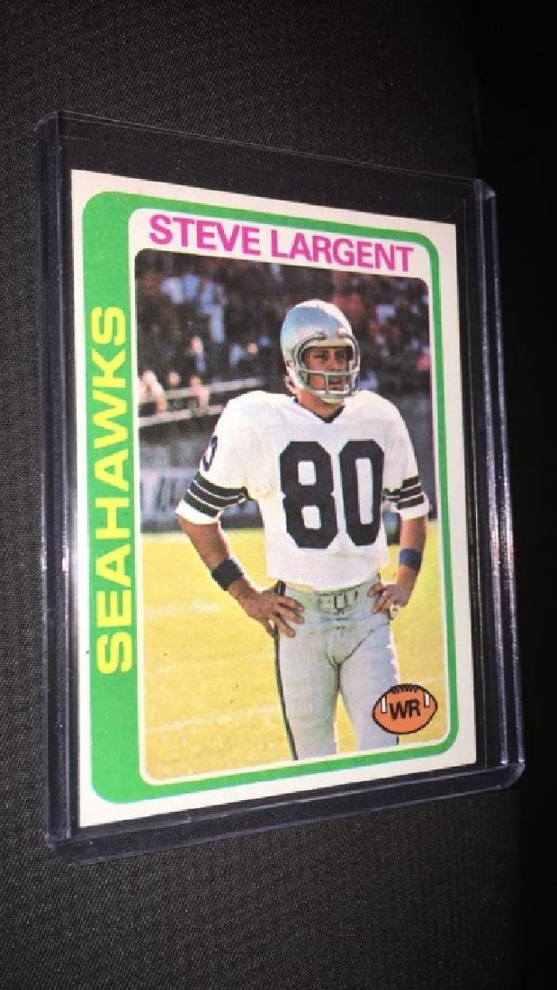 Steve Largent 1978 topps