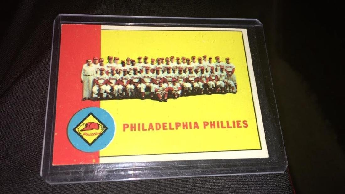 Philadelphia Phillies team card 1963 topps - 2