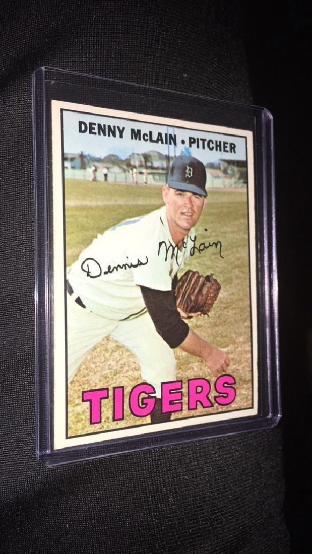Denny Mclain 1967 Topps
