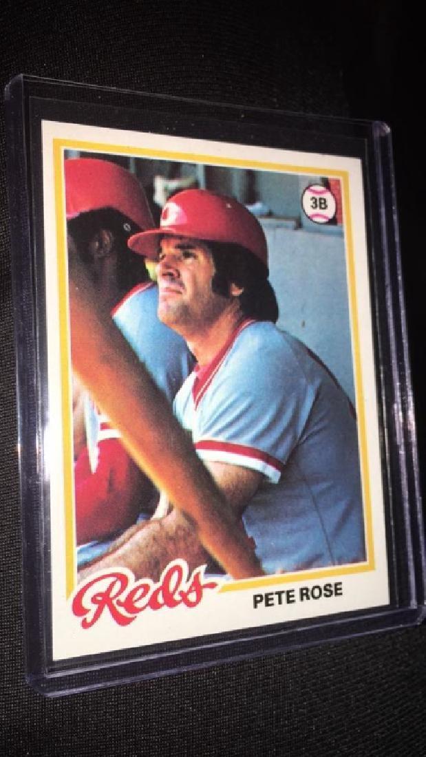 Pete Rose 1978 topps