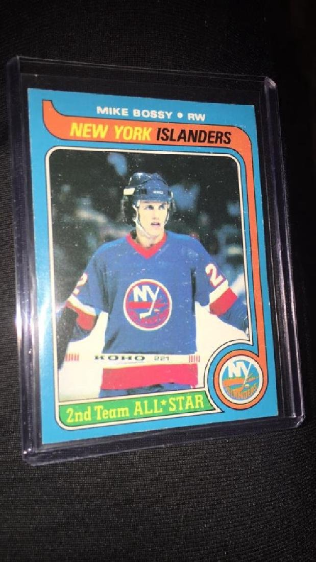 Mike Bossy 1979 Topps