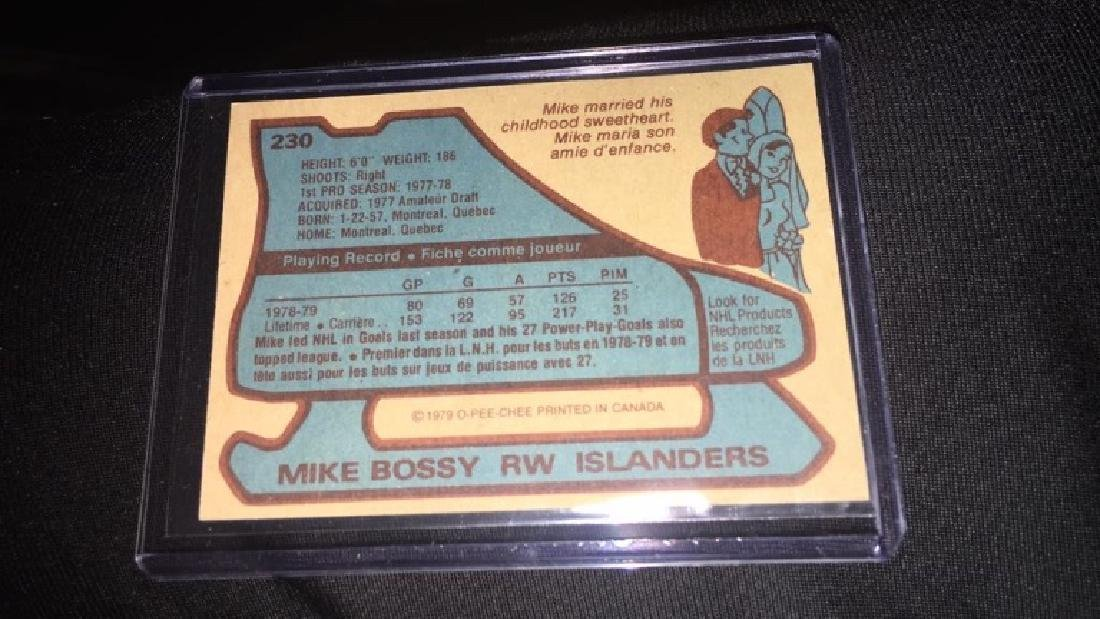 Mike Bossy 1979 Topps - 2