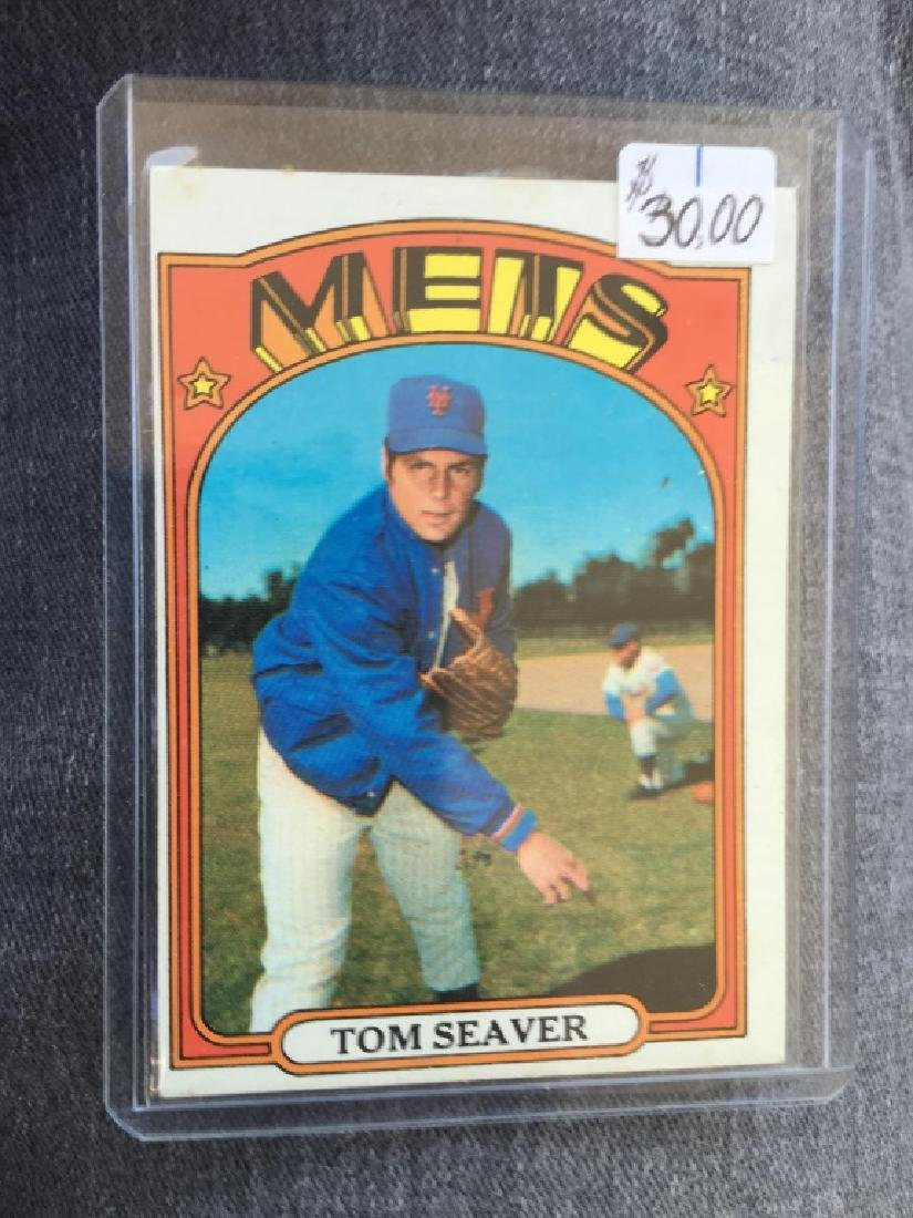 1972 TOPPS SET BREAK 445 TOM SEAVER METS