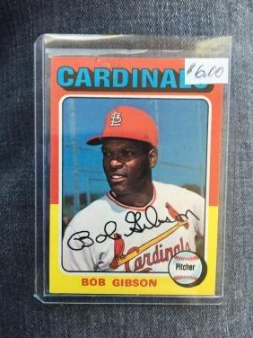 1975 Topps #150 Bob Gibson