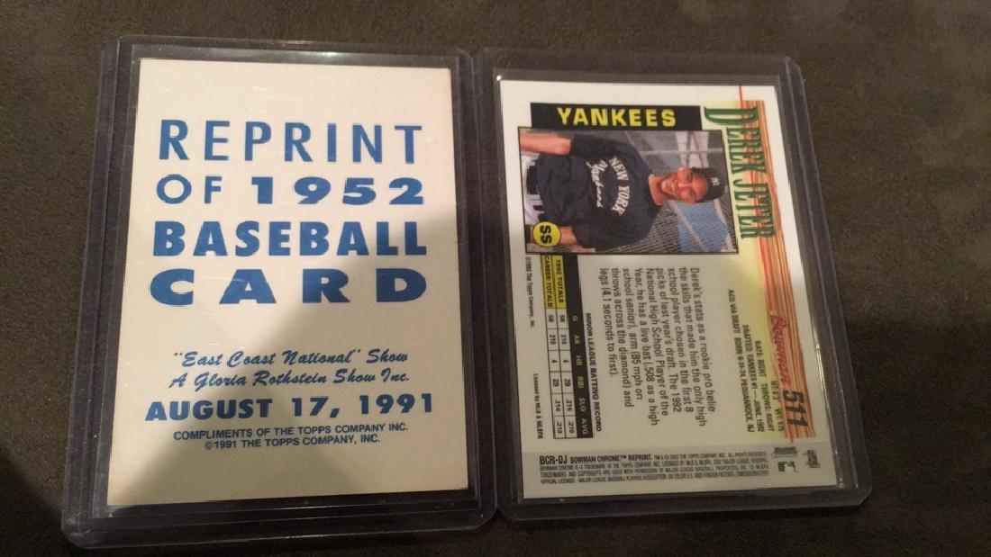 Mickey Mantle 1950 to reprint baseball card Derek - 2
