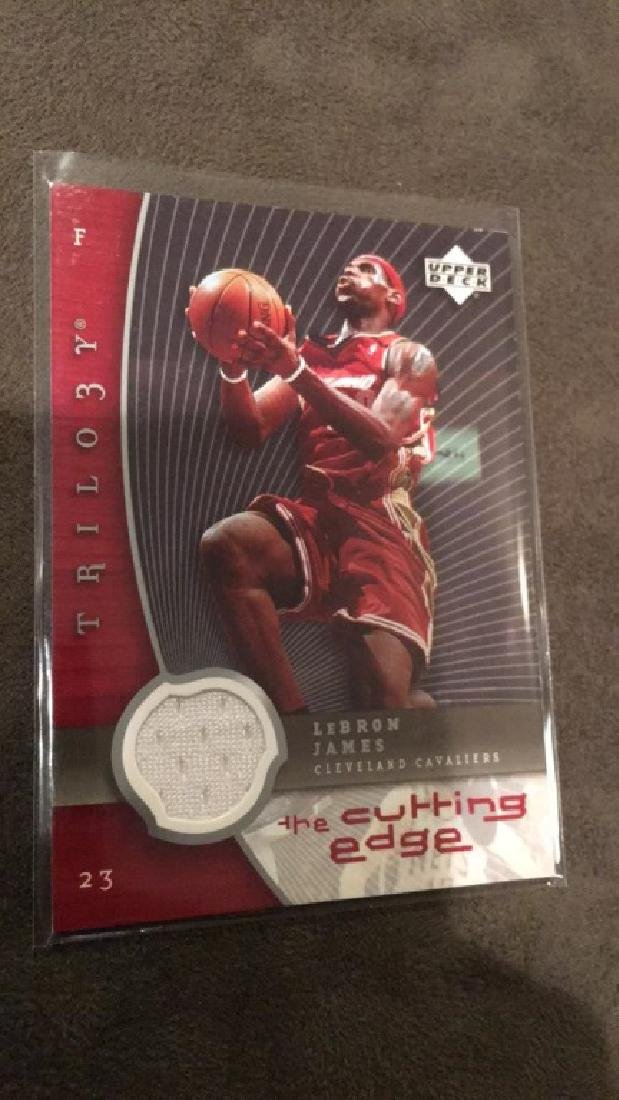 LeBron James 2005-06 upper deck trilogy the