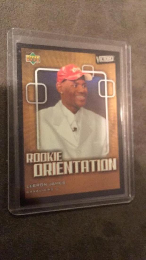 LeBron James 2000 304 upper deck victory rookie