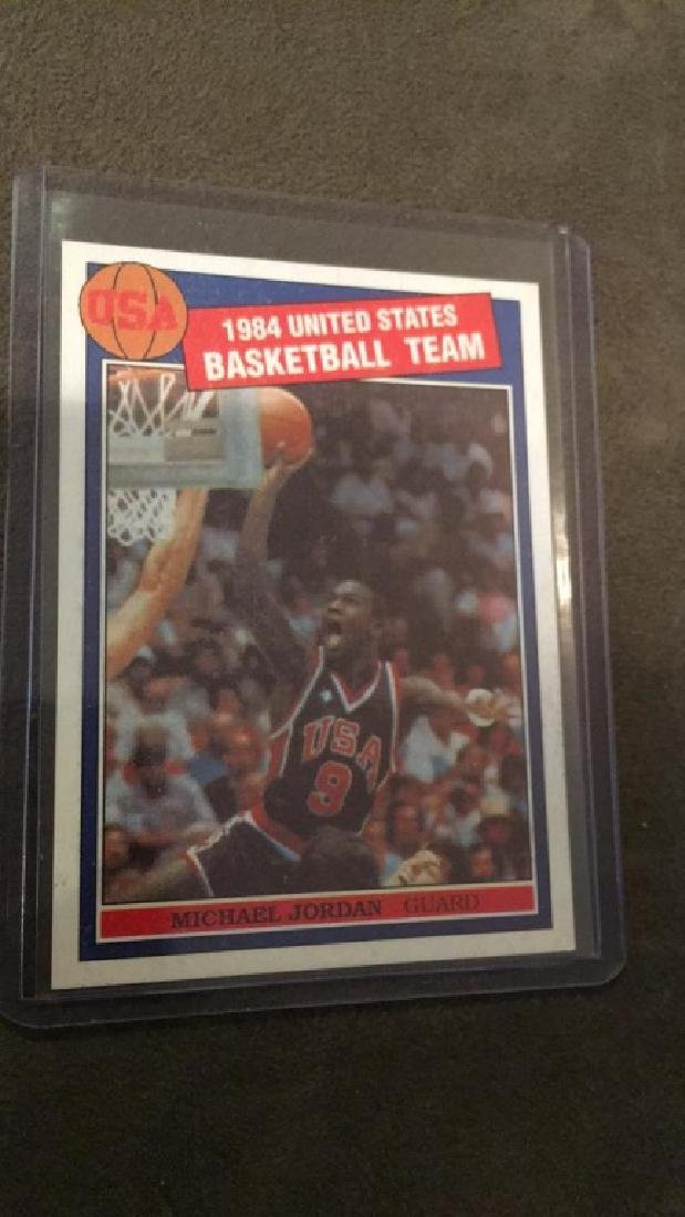 Michael Jordan 1984 United States basketball team