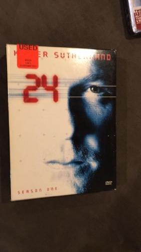 24 DVD Movie set season one