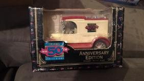 Ertl 50th anniversary edition diecast metal bank