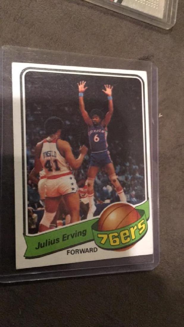 Julius Erving 1979 80 topps
