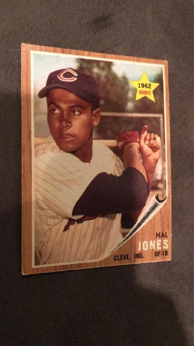 Hal Jones 1962 topps rookie