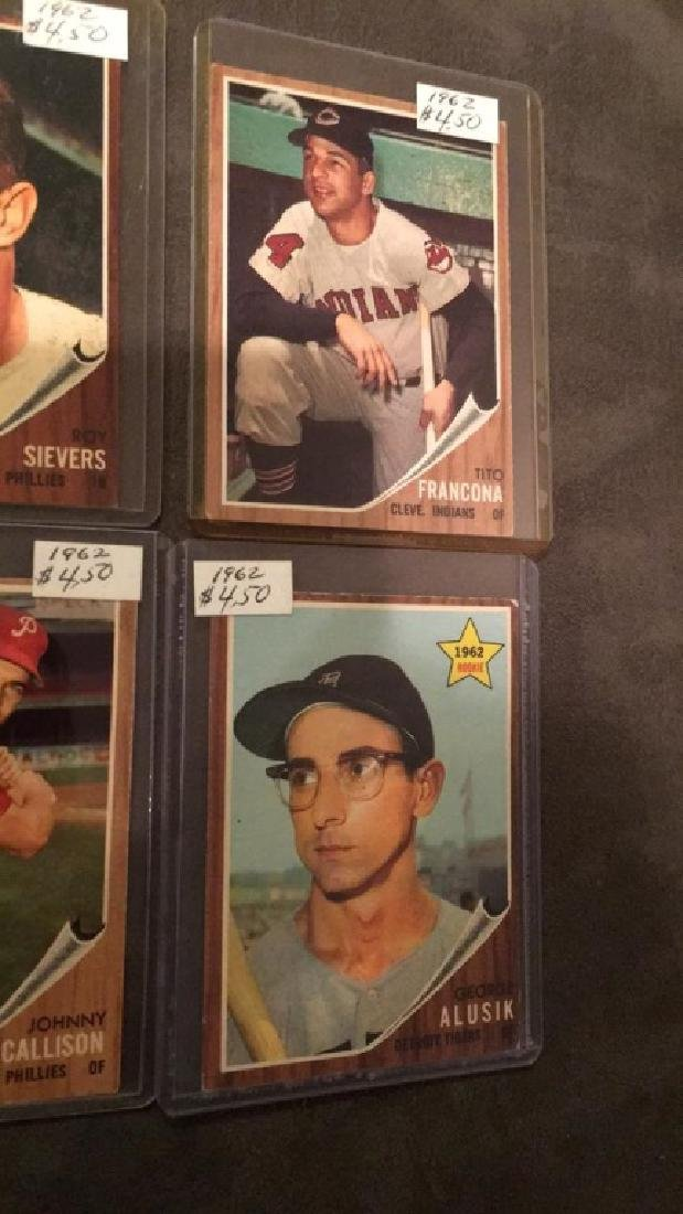 Lot of 419 62 tops cards with stars - 3