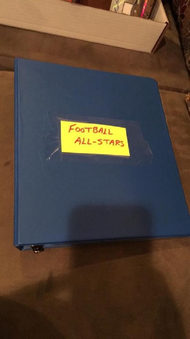 Football all-star booklet loaded nine Tom Brady