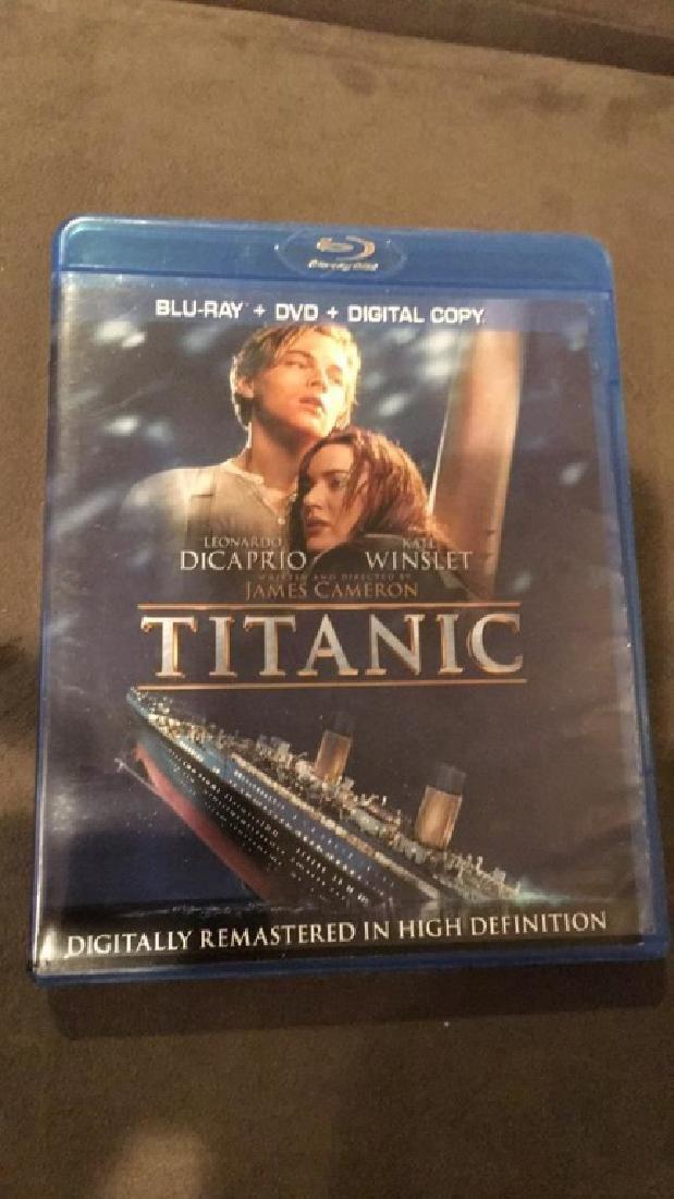 Titanic Blu-ray movie