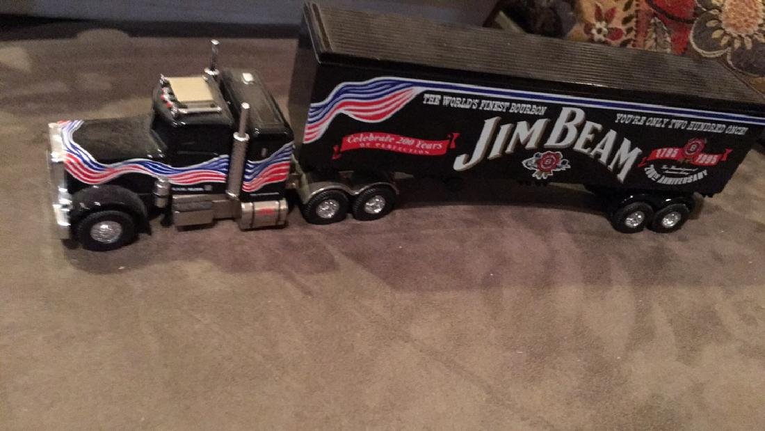 Jim Beam matchbox diecast metal tractor-trailer - 2