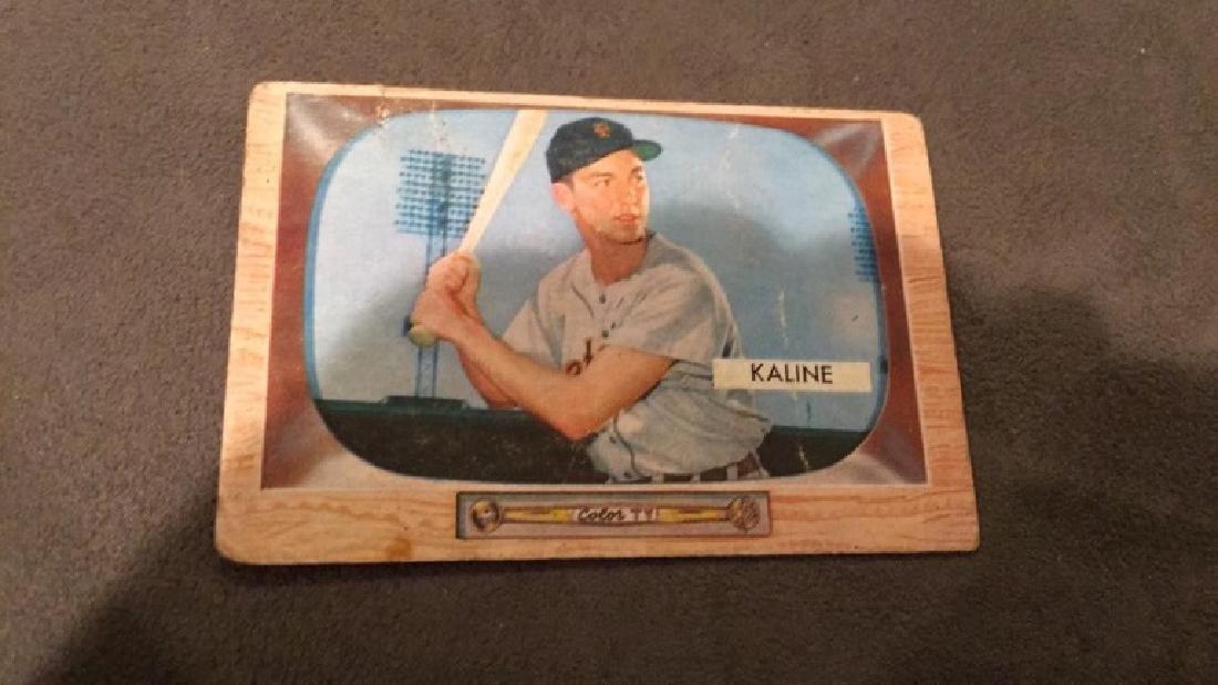 Al Kaline 1955 Bowman vintage baseball card