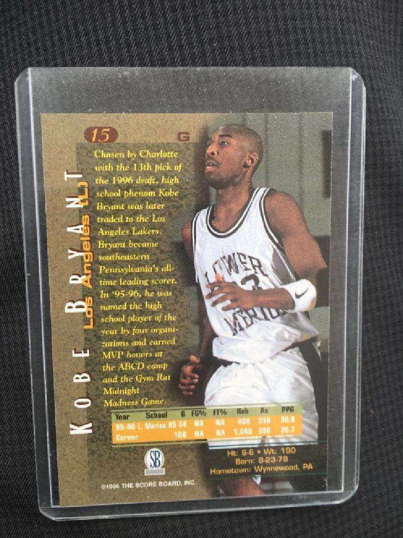 1996-97 Score Board KOBE BRYANT ROOKIE - 2