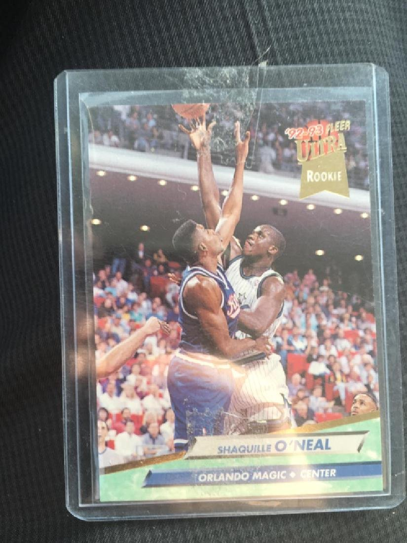 SHAQUILLE SHAQ O'NEAL 1992-93 FLEER ULTRA ROOKIE 8