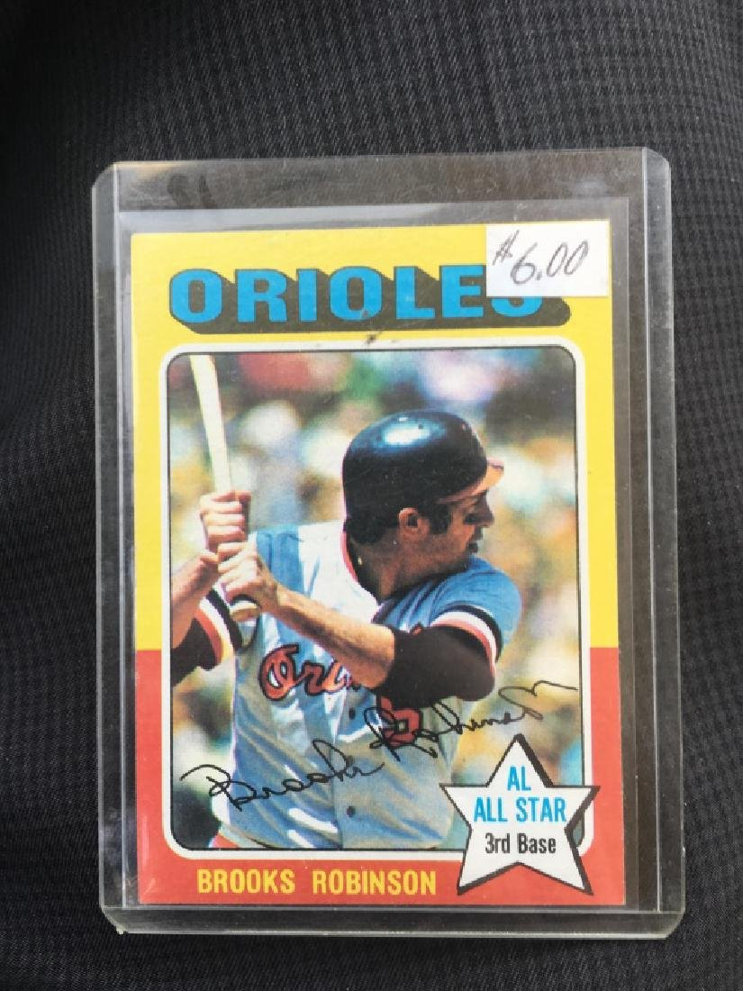Brooks Robinson 1975 Topps Card