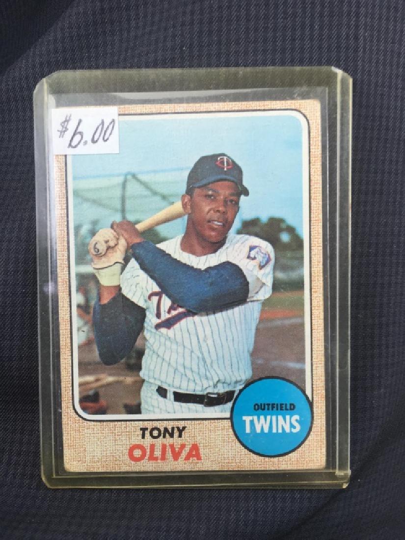 Tony Oliva 1968 Topps Card