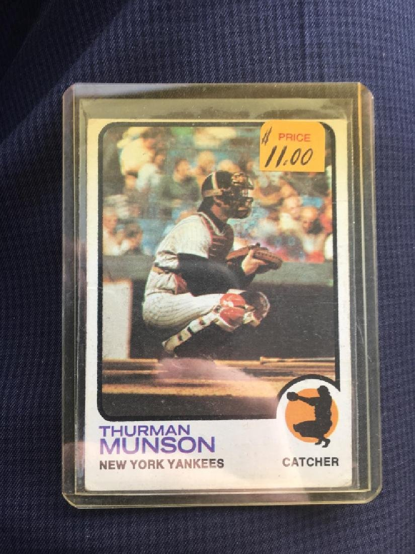 1973 Topps # 142 Thurman Munson