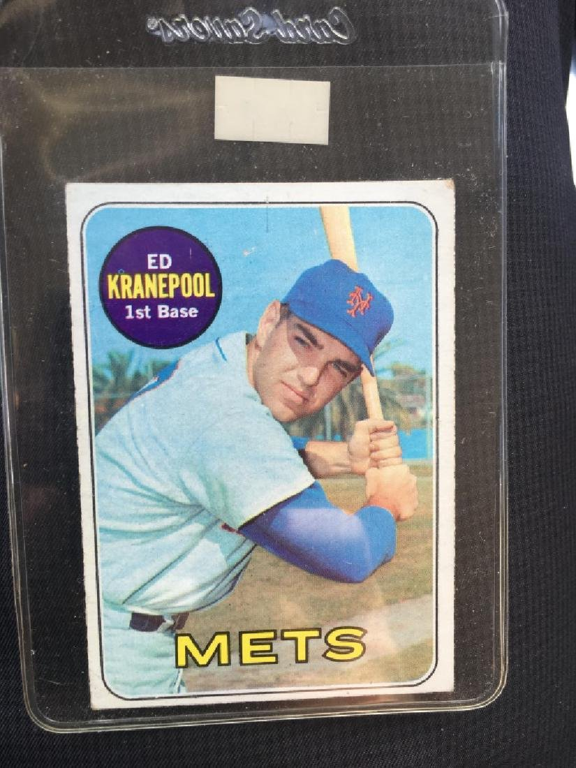 Ed Kranepool 1969 Topps Card