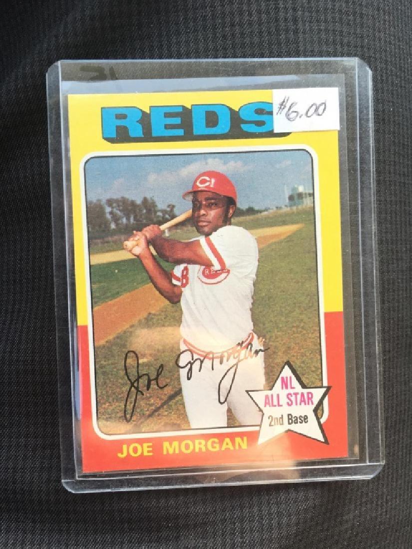 Joe Morgan 1975 Topps card