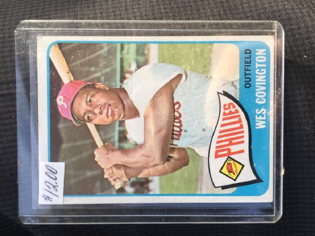 1965 Topps Baseball Card Wes Covington Philadelph3