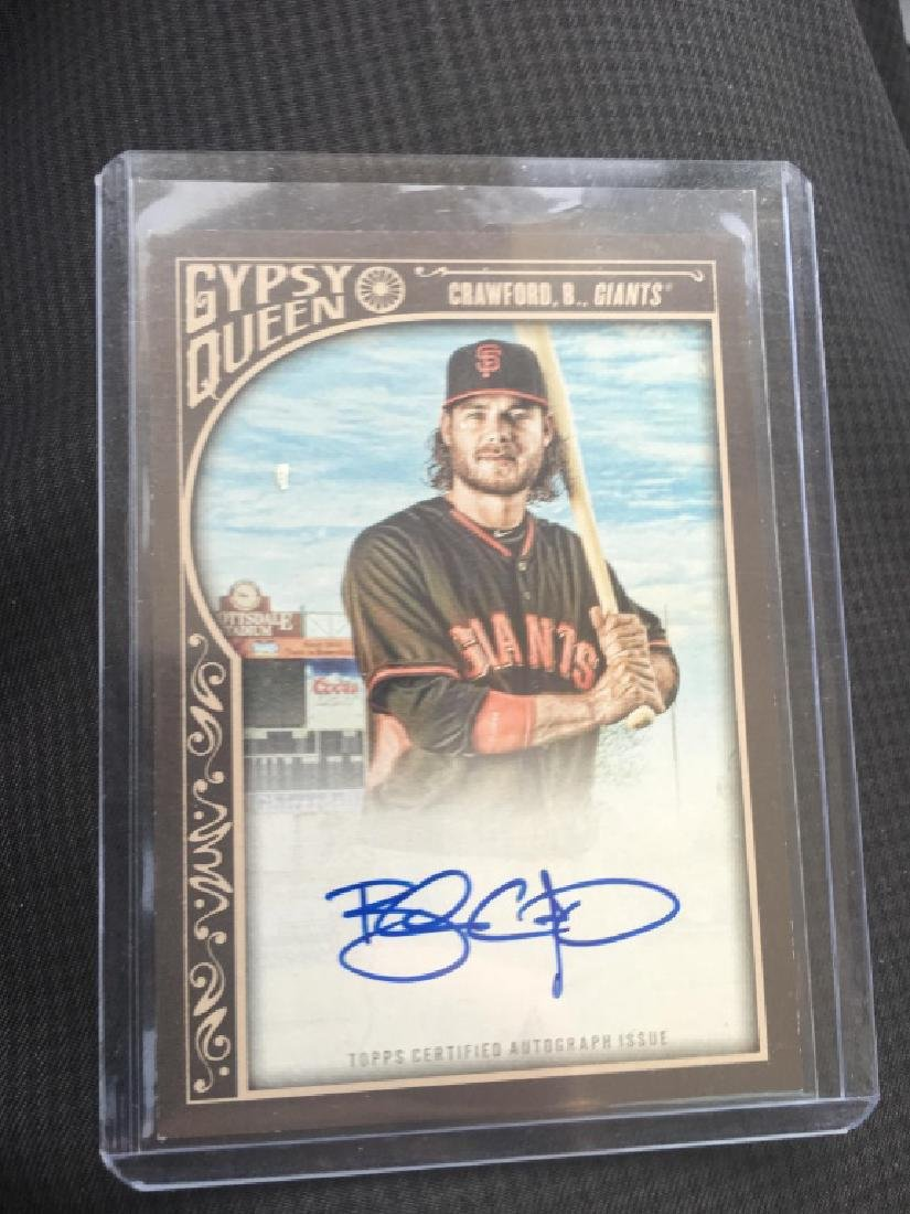 chris owings rc auto lot and Brandon Crawford - 2