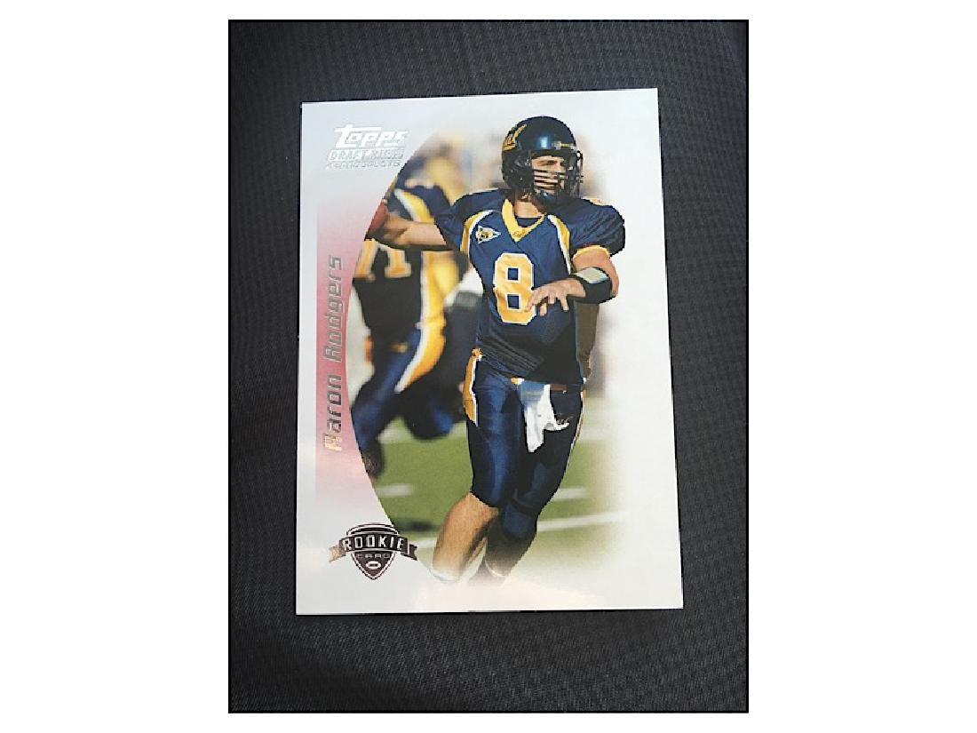 2005 Topps draft picks prospects Aaron Rodgers RC