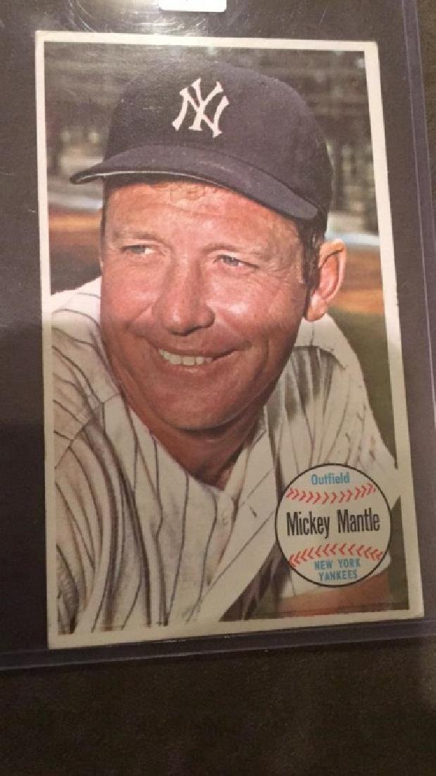 Mickey Mantle 1964 Tops giant