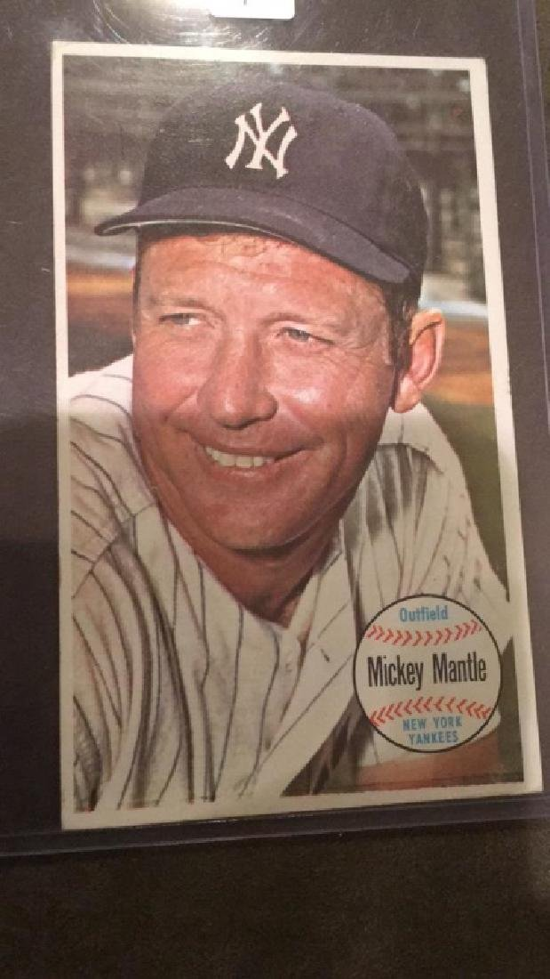 Mickey Mantle 1964 Tops giant - 2