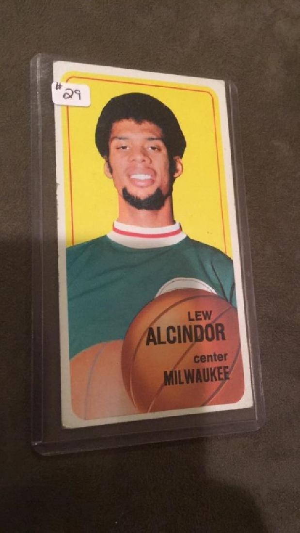 Lee Alcindor 1970-71 Topps card 2nd year nice