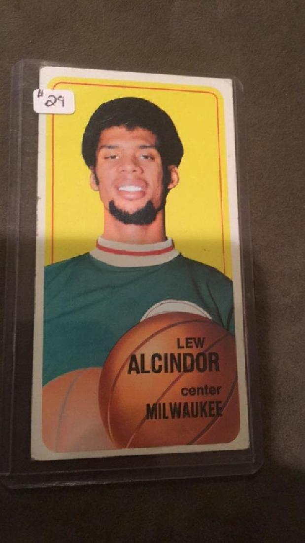 Lee Alcindor 1970-71 Topps card 2nd year nice - 2