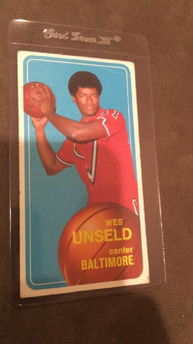 1970 71 tops Wes Unseld