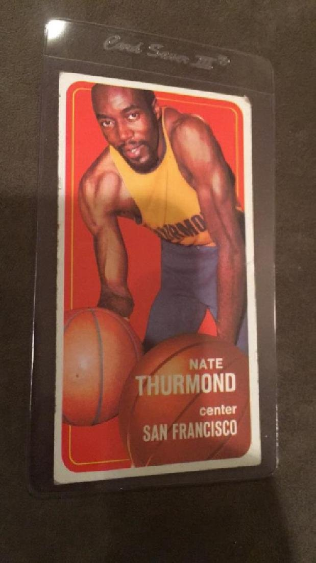 1970 71 tops Nate Thurmond
