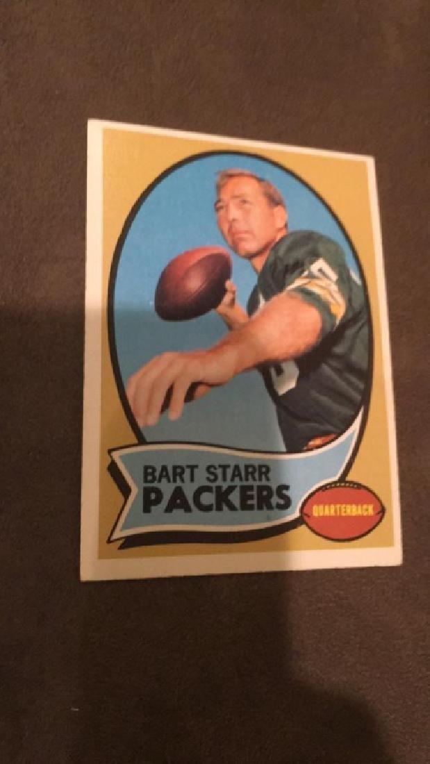 Bart Starr 1970 Topps card