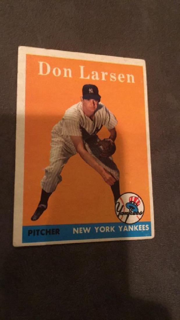 1958 Topps Don Larsen