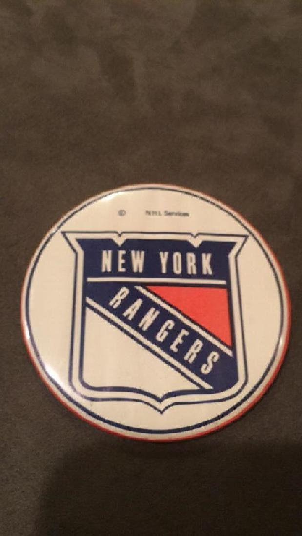 Vintage New York rangers button NHL - 2