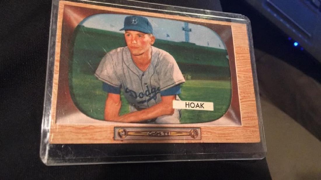 Don Hoak 1955 Bowman