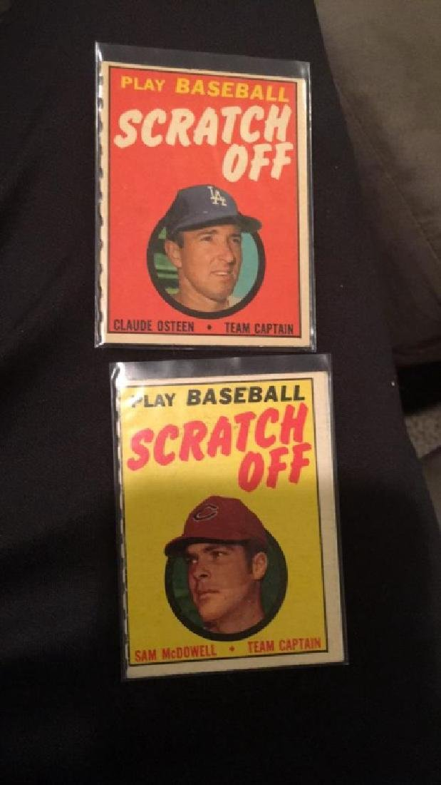 Play baseball scratch off lotto Clyde O'Steen Sam