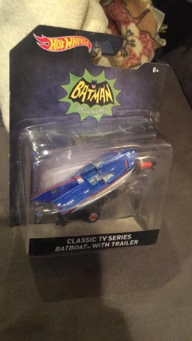 Batman classic TV series boat with trailer