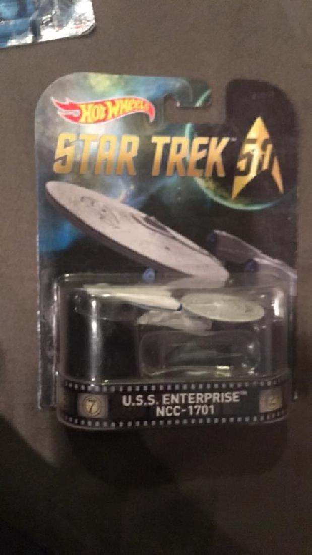 Hot wheels Star Trek USS enterprise NCC +IBM 1701