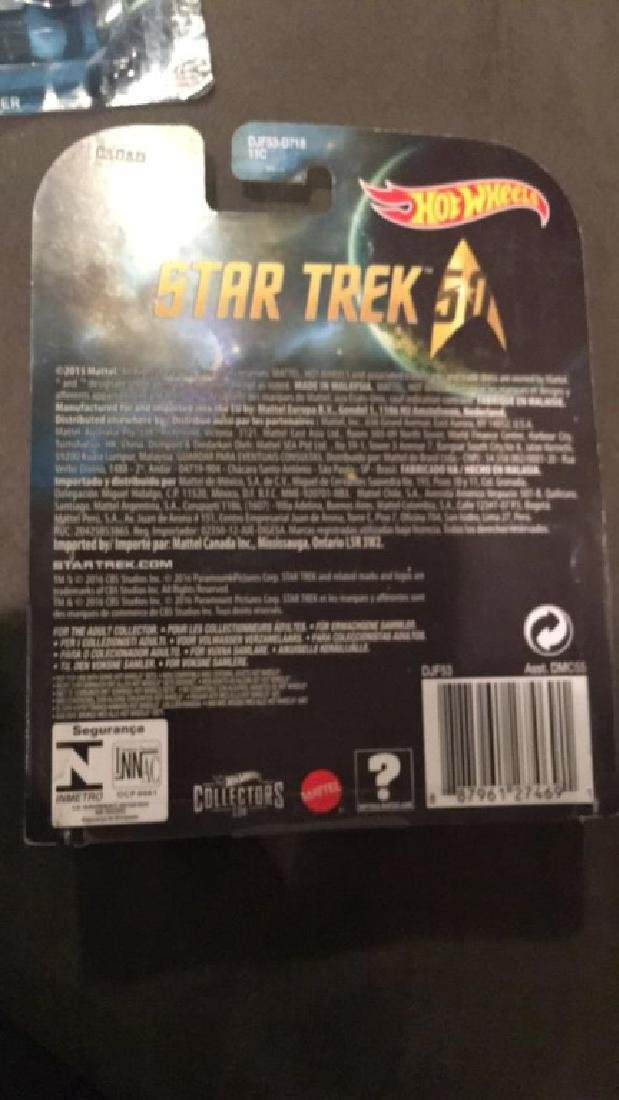 Hot wheels Star Trek USS enterprise NCC +IBM 1701 - 2