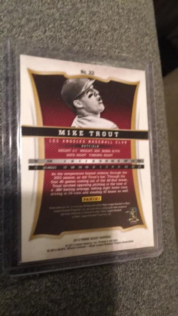 Mike Trout 2013 select - 2