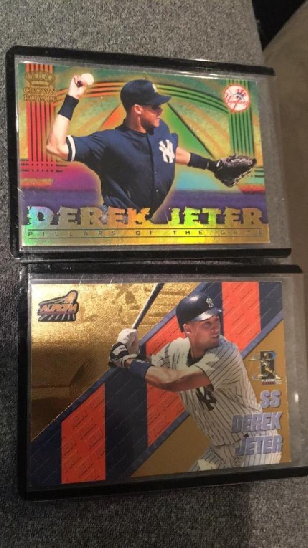 Derek Jeter 1999 Crown Royal pillars of the game