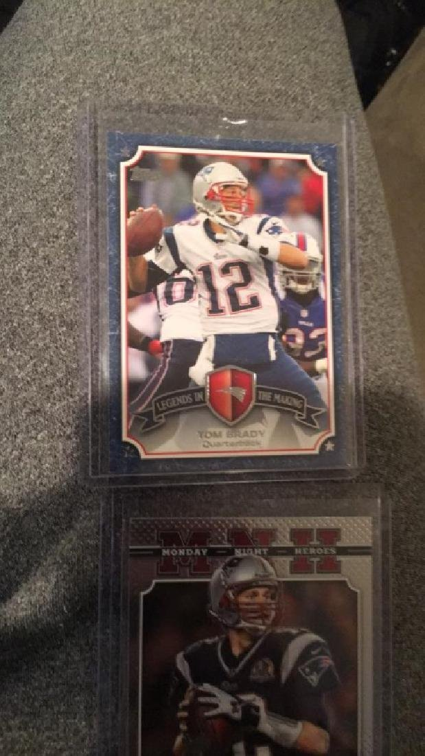 Tom Brady 2013 legend in the making insert prism - 3